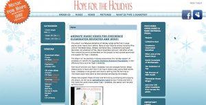 Zen Cart ecommerce integration Website design - HolidayHope.net